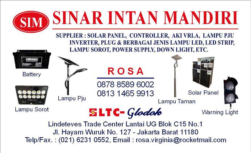 Supplier Panel Surya Glodok